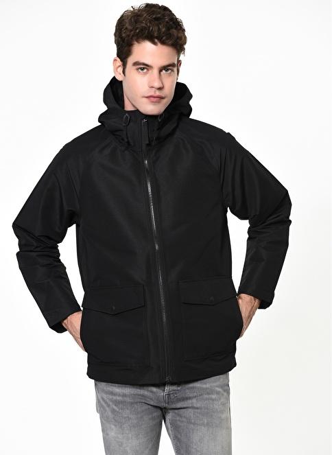 Levi's® Kapüşonlu Mont Siyah